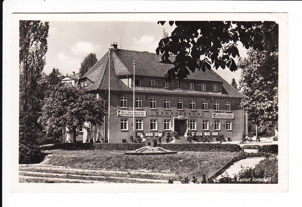 Kurort Jonsdorf, Gemeindeamt Kurverwaltung, Post. RS: 2 sehr gute Autogramme Horst Kube (Berlioner Ensemble) und Hans-Peter Minetti, Mächtiger und berühmter Schauspieler, zu der SED, Präs. d. Theaterschaffenden der DDR 1974-89 etc. etc.