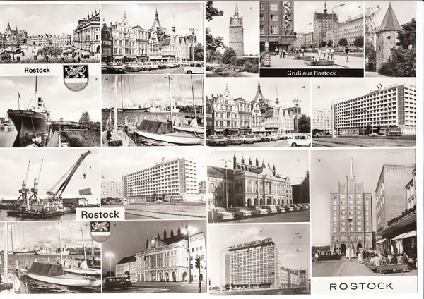 9 AK Rostock, DDR-Zeit