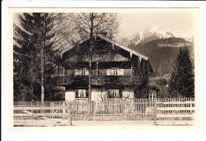 Unterwössen, O-Foto, Einzelhaus AK