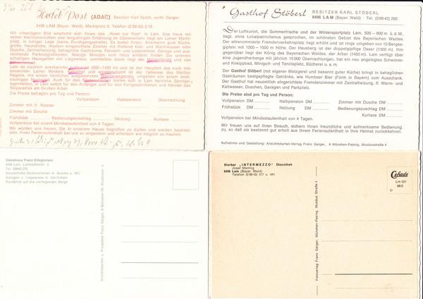 Lam Verlag Geiger 10 Verlags Muster Nr 37394 Oldthing