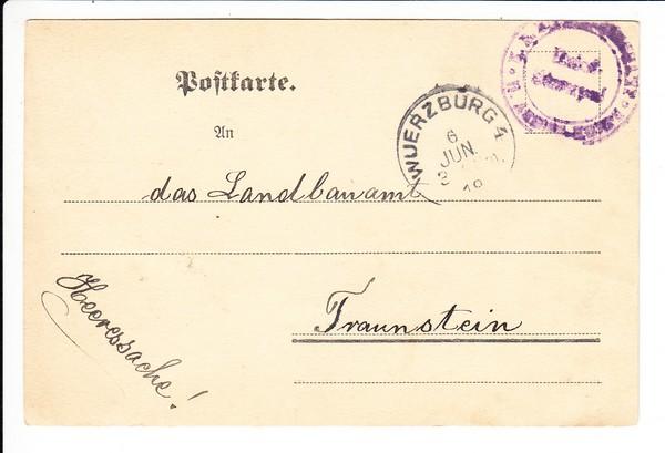 """6.6.1919, Dienstkarte nach Niederschlagung der Revolution, Auflösung des """"Behördenselbstschutzes"""""""