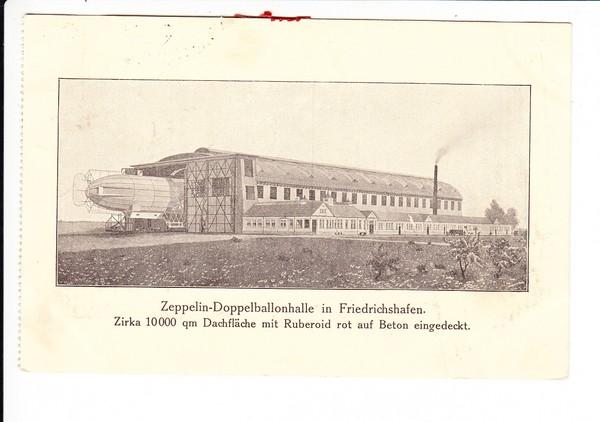 bessere Zeppelin AK, als Eilkarte 4/1918, Karlsruhe - Bruchsal, Laufzeit 2 Stunden!!! Heutige Post schäme Dich!