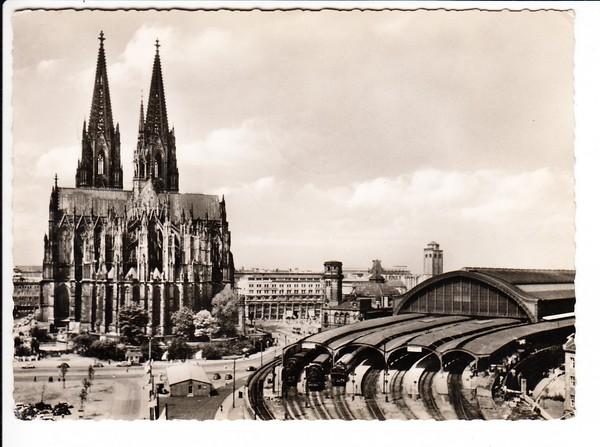 nette Bedarfskarte, Text, Köln - Ehrenfeld - USA, Inhalt!