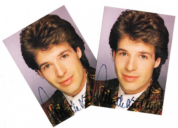 2x Patrick Lindner, je O-U, ca. 1990