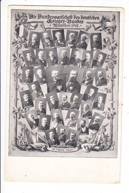 Bundeswartschaft (heute Vorstend) Deutscher Krieger Bund 1912