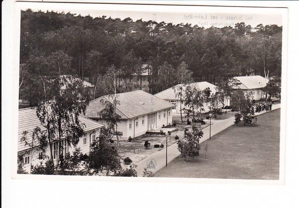 Olympisches Dorf Döberitz, westlich Berlin, nun Infanterieschule, 1941, Feldpost, Landpost, beste Erh.