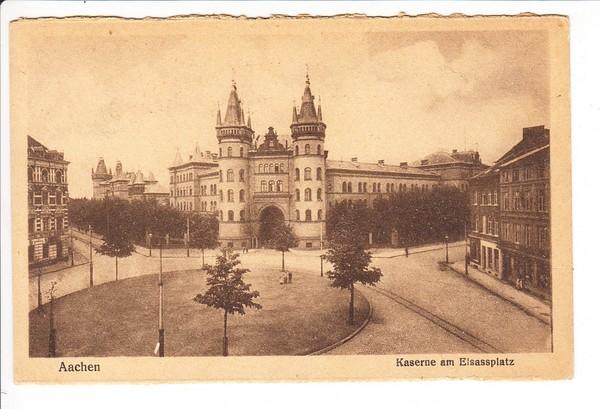 Aachen, 8/1919 nach Belgien, dort Militär-Zensur