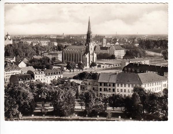 Ak, nach dem Krieg, Münchner Au, Ruinen