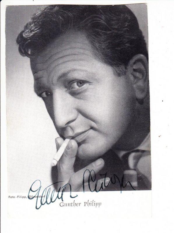 Gunther Philipp, dt/ö Schauspieler, 1918-2003, auch Rennfahrer!