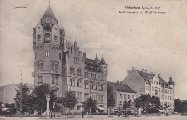 """Neuhausen, """"Kultkarte"""", gel. 1907!, i.O."""