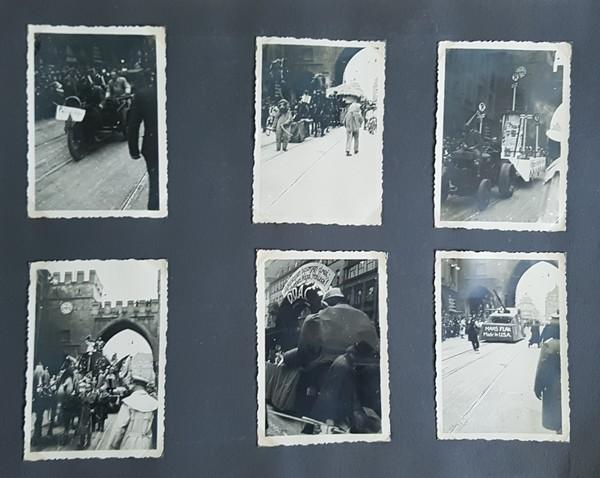 München, Fasching 1939, 6 O-Fotos vom Umzug
