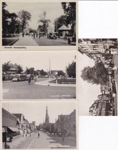 Leeuwarden, 4 interes. Vorkriegs-AK, ungel.