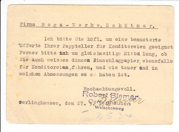 echte Bedarfs-Bundestags-GSK, Erh II