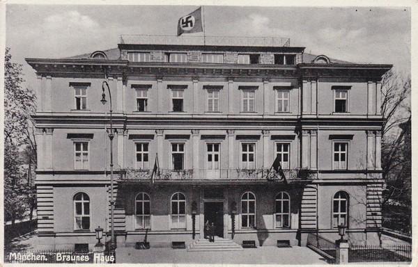 München, braunes Haus, Zudruck RS!
