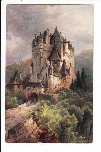 Treuchtlingen - Würzburg, Zug 40, 1917, RS: Burg Eltz