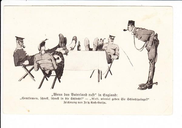 Berliner Illustrierte Zeitung, gute Fritz-Koch-Karte, gel. 1917