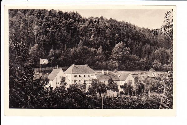 Oberbach/Rhön, Reichsmütterschule, von Teilnehmern dort, gel. 1942