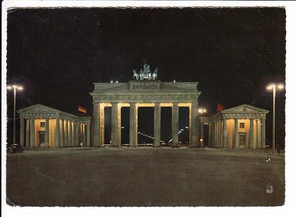 Heuß 15 Pf, sehr spät!! ab Berlin 1964, Mi 25