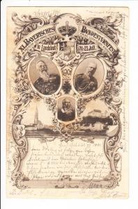 Landshut, Turnfest, gel. 1901 von dort, Erh. i.O.