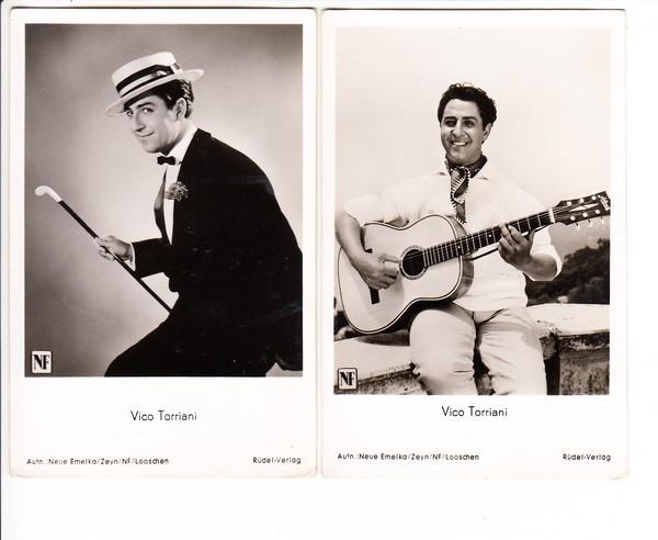 Vico Torriani, Musik u. Filme, Unterhaltung ohne Tiefgang 2 AK