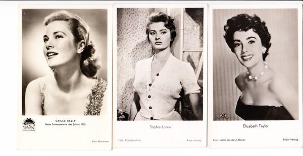 """3 Schauspielerinnen, die """"Flammen"""" unserer Väter, Sophia Loren, Grace Kelly, Elisabeth Taylor 0"""