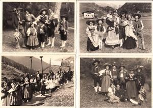 Italien, Südtirol, 48 versch. Fotografien Trachten, Foto Fränzl, ungel., beste Erh.