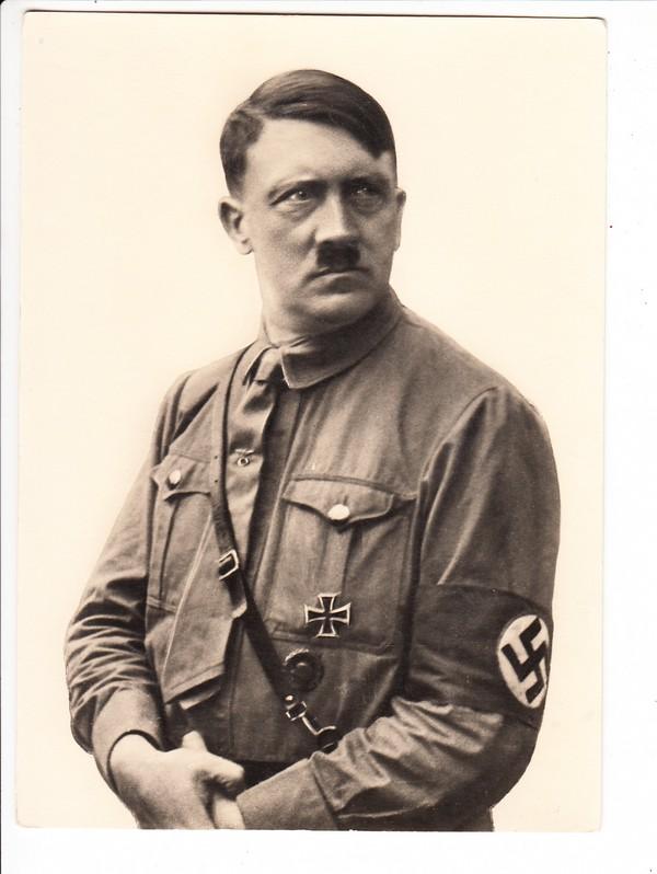 ( siehe genau die RS!) 13x18cm, Hitler