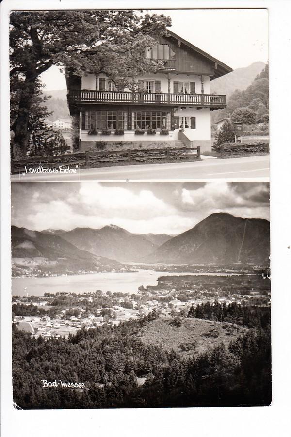 Bad Wiessee, Landhaus Eiche, Foto-Karsten-AK, gel. 1962 0