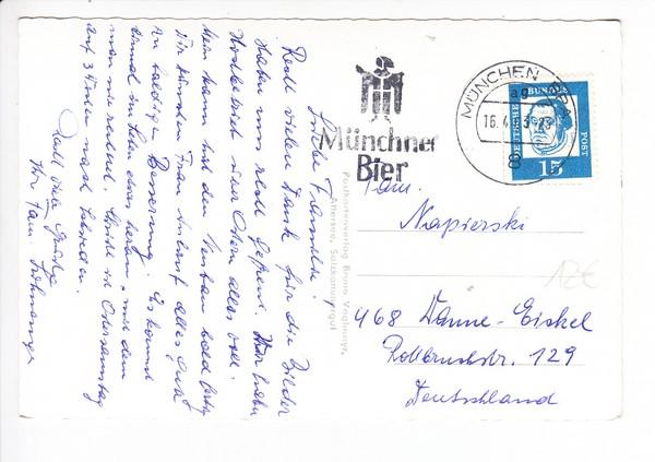 """Österreich, Attersee, Hipping Pension Lohninger, kpl. gel. im """"Piefkeland""""! 1"""
