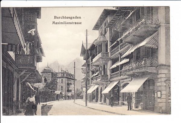 Berchtesgaden, guter Lichtdruck, Maximilliansstraße 0