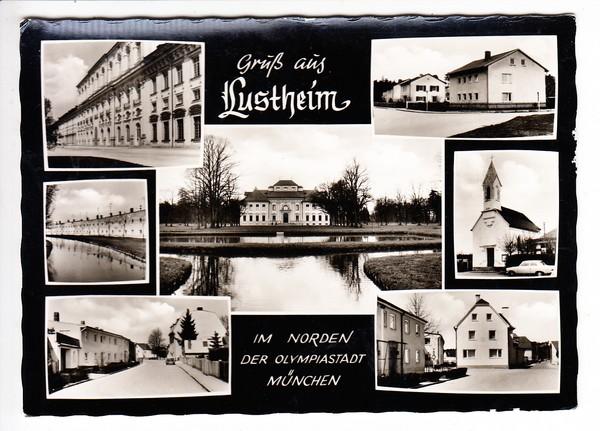 München, Schleißheim, Ortsteil Lustheim, hatten wir Jahre nicht, ungel. i.O. 0