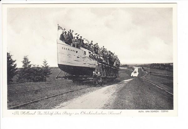 preussisch Holland, Schiff über Berg 0