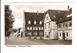 Immendingen, Straßen-AK, Gasthof und Post, ca 1935, ungel.