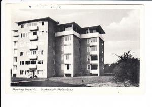 Hamburg, Wiederaufbau-Karte, gel. 1955 nach NL, Marke ab, ca 12 Jahre nach Gomorrah!