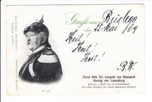 Bismarck-AK, gel. 1899