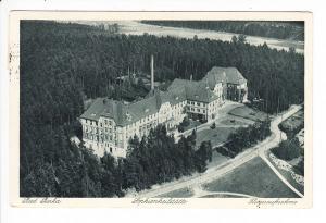 Bad Berka, Sophienheilstätte, Junkers Luftbild, gel. 1936