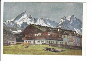 Werdenfelser Land, Carl-Reiser-AK (Mi 10.-)