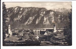 Kiefersfelden, O-Foto-AK, gel. ab dort 1928 nach Nürnberg, dort nicht zustellbar u. retour