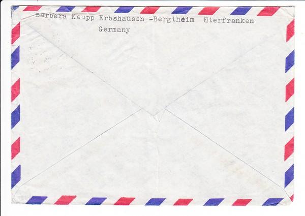 Luftpostbrief nach Ghana 1
