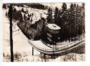 Klingenthal, Sprungschanze, gel. 1962, heute Matten-Sprungschanze, auch bei Schneemangel
