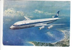 DC 8 der KLM, col. 1966, Toronto - Braunschweig, i.O.