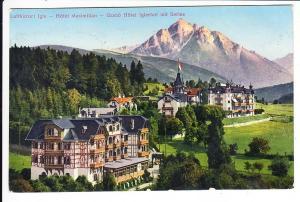 Österreich, Tirol, Luftkurort Igls, Hotel Maximikian, col. gel. i.O.