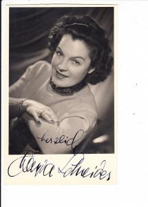 Magda Schneider, O-Foto, O-U, datiert 1945, RS!