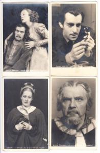 München, 7 Schauspieler, 20iger Jahre, kpl. in Ordnung, ungel.