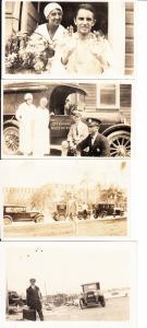 USA, 4 sehr gute Fotos Pocken in den USA 1926, gute Beschreibungen (deutsch!) rückseitig