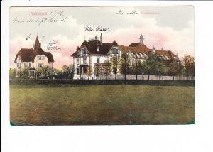 Radolfzell/ Bodensee, Krankenhaus, col.AK, gel., i.O.