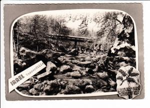 Irrel-Wasserfälle, Naturpark Südeifel, s/w-AK 60iger Jahre, inter. RS