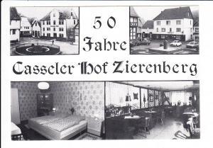 Zierenberg , Hotel Casseler Hof, Jub. AK, ungel.