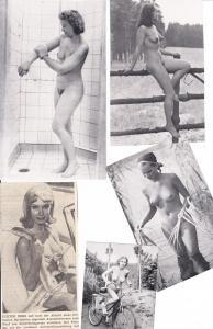 5 erotische Drucke, etwas kleiner