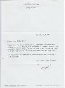 München, Ephraim Kishon, KZ-Überlebender, Schriftsteller, Schach, Sprecher u. Sammler